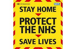 January Lockdown (Stay Home, Protect the NHS, Save Lives)